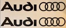 Audi Decals / Stickers x2