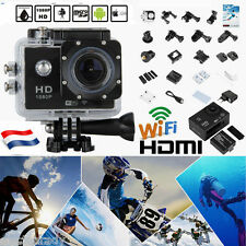 4K Ultra UHD 12MP 1080P WiFi Sport Action Vidéo Caméra Étanche 30M DV Caméscope