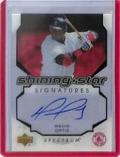 2007 Upper Deck Spectrum Shining Star Signatures #SS-DO David Ortiz No 36 of 99