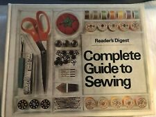 New listing Reader's Digest Complete Guide To Sewing Hb Vg+ Condition Sew Illustrated Hc