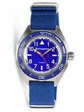 Vostok Komandirskie 650852 Watch Automatic Russian Wrist Watch Blue New