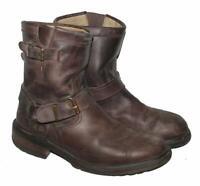 ">>> niedrige "" SANCHO "" Herren- Biker- Stiefel / Western- Boots in braun Gr. 42"