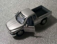 Kinsmart Dodge Ram 1500 Diecast Grey Pickup Truck 1/44 Scale