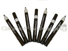 10 x BLACK BULLET TIP PERMANENT MARKER PENS *OFFER*