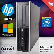 Fast HP Desktop Computer Quad Core i5 4GB RAM 500GB HD Windows 10 Pro 32 Bit PC