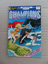 Champions (game) 2 of 6) . Eclipse 1986 - VF