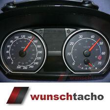 discos para velocímetro BMW 1 E81 E82 E87 E88 negro-negro 310 Km/h