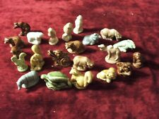 Wade Figurines Lot of 22, Some are old, All in Good condition
