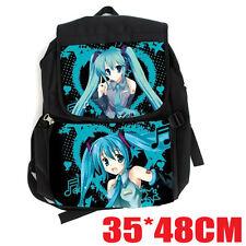 Hatsune Miku beauty Backpack Computer Bag School Travel Hiking Bag WE838