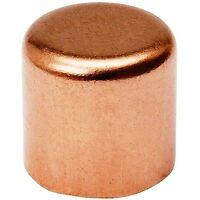 "(Bag of 1) 1 1/4"" Copper Cap Sweat Solder Joint"