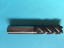 "1/2"" HTC HOT MILL 4 FL SE SQUARE CARBIDE  ALTIN COATED END MILL"