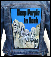 DEEP PURPLE  --- Giant Backpatch Back Patch / Budgie Lucifer's Friend