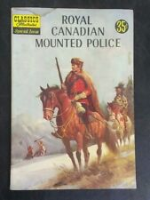 Classics Illustrated #150 Royal Canadian Mounted Police GD/VG 3.0! 20% Offf!