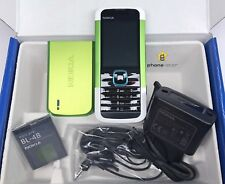 Nokia 5000 rm-362, móvil mobile phone Unlocked Pincho Bluetooth cámara GPRS nuevo new box