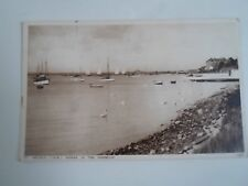 ISLE OF WIGHT, St Helens Swans In the Harbour (74685) Vintage Postcard    §A2663