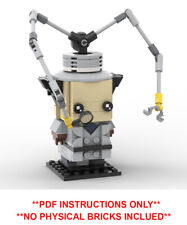 Lego Brickheadz - Inspector Gadget - Custom MOC  - PDF INSTRUCTIONS ONLY