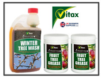 Vitax Fruit & Veg Tree and Plant Protection Tree Wash 500ml OR Tree Grease 200ml