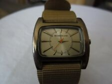 GENTS RIVER ISLAND QUARTZ WATCH NEW STRAP NEW SWISS MADE RENATA BATTERY