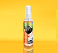 Parfum Voiture Aroma Car Pump Spray Ice Tea Peche 75ml