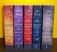 SWEEP #1- 15 Complete series in 5 Volumes Cate Tiernan witches coven WICCA