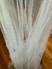 White Bed Canopy Net