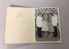 Vintage Photo Two Couples Delta Zeta Fraternity Ball College University 1957