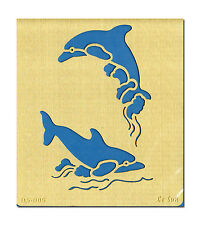 Embossingschablone Prägeschablone Malschablone Schablone Le Suh Delfine (571085)