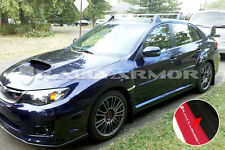 Rally Armor 11-14 Subaru Impreza STI & WRX Sedan Black UR Mud Flaps Grey Logo