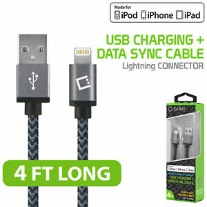Data Sync & Charge Lightning USB Cable- Apple iPhone 11 Pro Max Xr Xs Max X SE 8