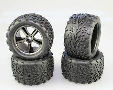 4 Traxxas 1/16 7107 Brushless VXL E-REVO Talon Tires  12mm Wheels Tire Wheel 54