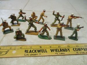VTG Starlux 1/32 54mm French Foreign Legion Plastic Army Men Figures Soldiers
