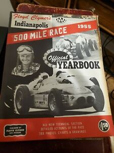 1955 Floyd Clymers Indianapolis 500 Race Yearbook - Complete ! -A++++