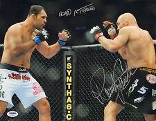 RANDY COUTURE ANTONIO RODRIGO NOGUEIRA SIGNED AUTO'D 11X14 PHOTO PSA/DNA UFC A