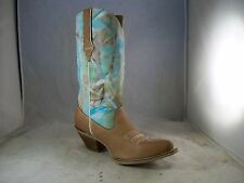 NEW CRUSH BY DURANGO WOMEN FANCY STITCH WESTERN BOOT (DRD0207) 8 MED $160