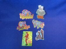 AUSTIN POWERS Vintage Vending Machine Stickers 1999 TEN (10) Stickers