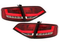 Par De Faros Luces Traseras Tuning LED LTI Audi A4 B8 8K Limo 07-11 ROSSO