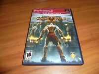 God of War II (Sony PlayStation 2, 2-Disc 2007) Complete PS2 GH 2