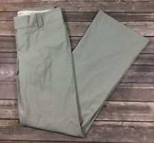 Banana Republic NWT Womens Sloan Fit Flare Dress Pants 8 Gray Pinstriped F63