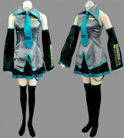 Hot sale ! Vocaloid Hatsune Miku Cosplay Costume Full Set