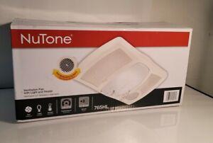 NuTone Ceiling Bathroom Exhaust Fan with Light and 1500 Watt Heater 765HL
