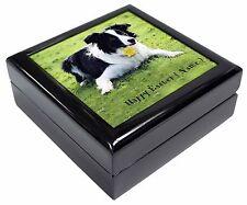 Personalised Name Collie Keepsake/Jewellery Box Christmas Gift, AD-CO69DA2JB