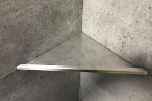 Befliesbare Duschablagen – nachträglich einbaubar - V2A Edelstahl 310mm Q220