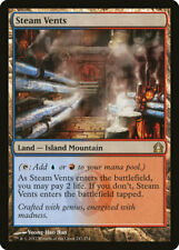 Steam Vents, Land-Island Mountain Return to Ravnica Card#247 Released 2012 MTG.