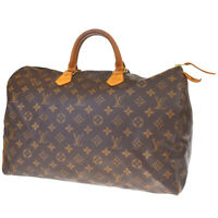 Auth LOUIS VUITTON Speedy 40 Travel Hand Bag Monogram Leather M41522 89MF072