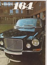 Volvo 164 brochure - 1969 - mint condition