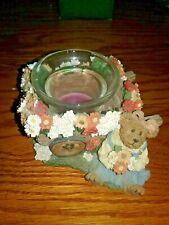Boyds Bears & Friends - Eliza Doobeary Flower Petallin' - Votive Candle Holder