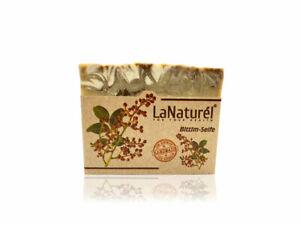 LaNaturel 110g Bittimseife Handmade für Haare gegen Schuppen, stärkt Haarwurzlen