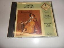 Cd   Haydn* -  Mozart*  – Cello Concertos Nos. 1 & 2 / Divertimento No. 2 Salzb