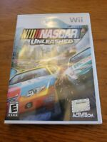 NASCAR UNLEASHED 2011 Nintendo Wii Game RACING Complete Vg
