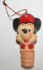 Vtg  Mickey Mouse Candy Tube Topper Stopper Ornament Walt Disney Toy RARE